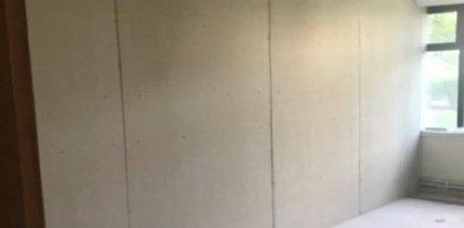 Cement Board Interior Partition