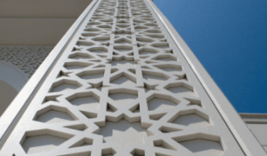 Fiber Cement Decorative Panel Application