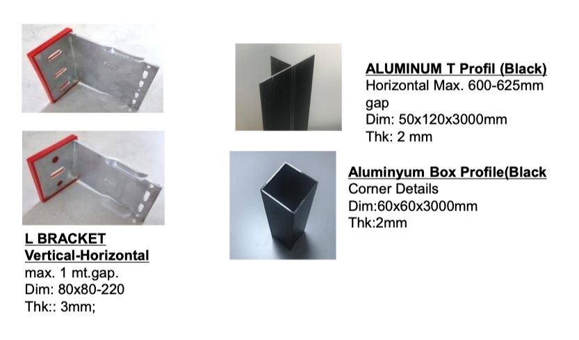 Cement Board profiles - Aluminium Installation Profiles | ICI BUILDING SUPPLIES