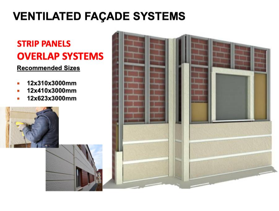 Cement Board Ventilated Facade Application - ICI BUILDING SUPPLIES